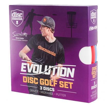 Evolution Set Pack Disc Golf